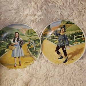Wizard of Oz China plate by Knowles.